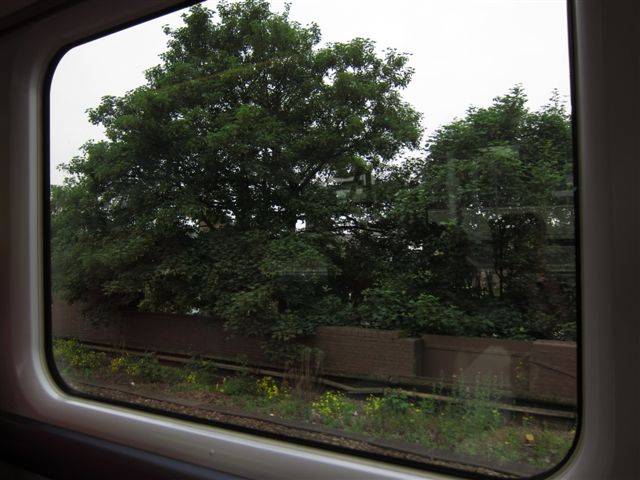 View from the Gatwick Express