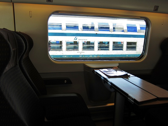 2nd Class Seating on Trenitalia