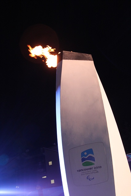 Whister Olympic Cauldron 2010 Paralympics