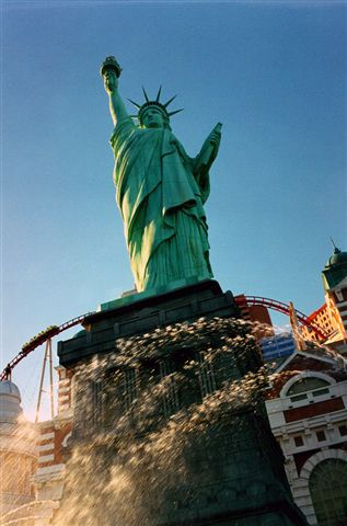 Lady Liberty at NYNY Las Vegas