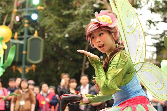 Hong Kong Disneyland Parade Fairy