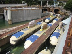 1996 Disneyland Submarine Renovation - Submarines