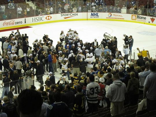 Boston Bruins Celebrate Stanley Cup 2011