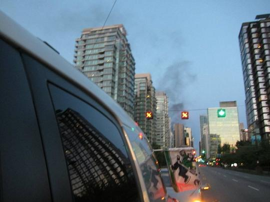 Leaving Downtown Vancouver Before More Riot Violence