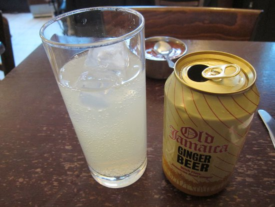 Ginger Beer at The Golden Hind in London