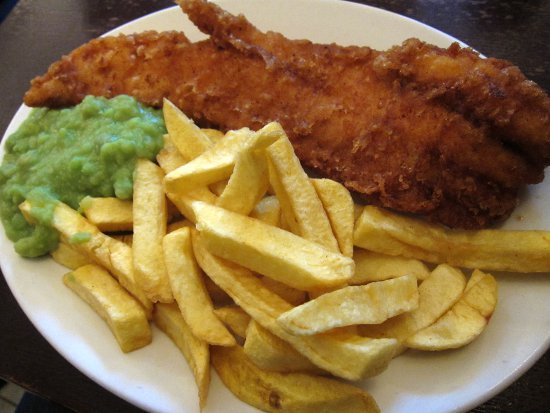 Fish and Chips at The Golden Hind in London