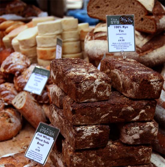 Bread at Borough Market
