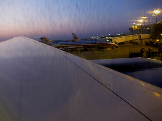 American Airlines 777-200ER Wing