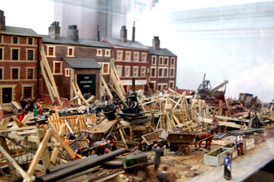 Tunnelling Model London Transport Museum