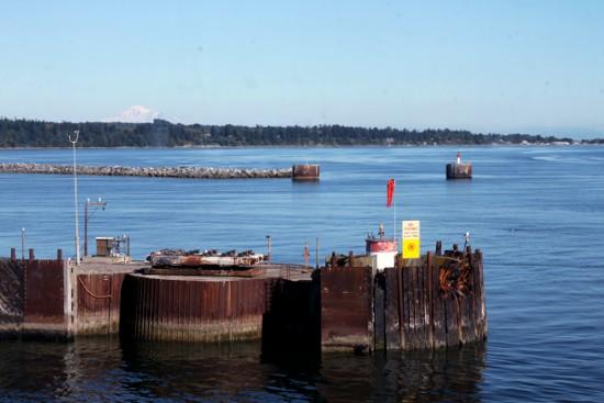BC Ferry dock at Tswassen