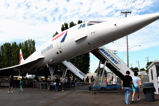 G-BOAG Concorde at Museum of Flight