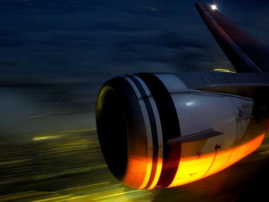 Alaska Airlines 737 Engine