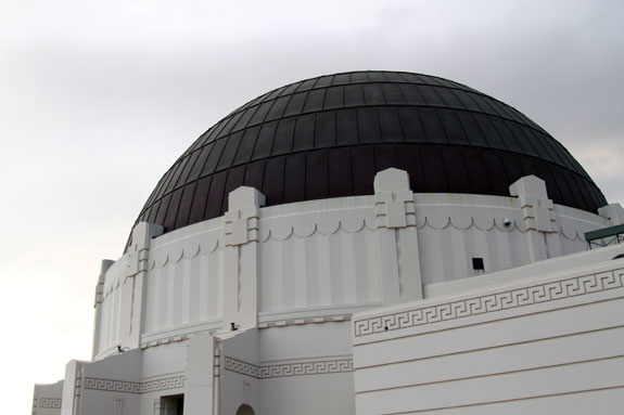 Griffith Observatory Dome Los Angeles California