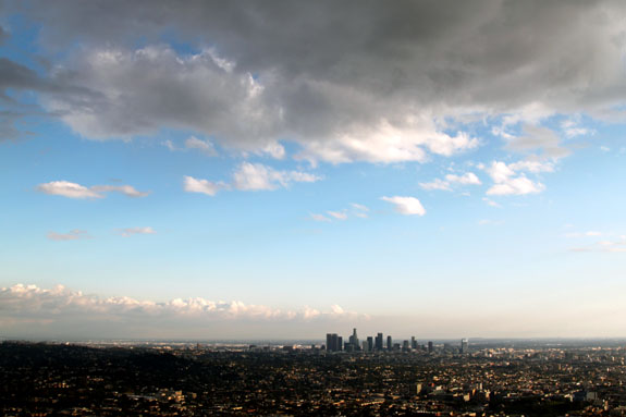 Los Angeles Skyline from Gritffith Observatory