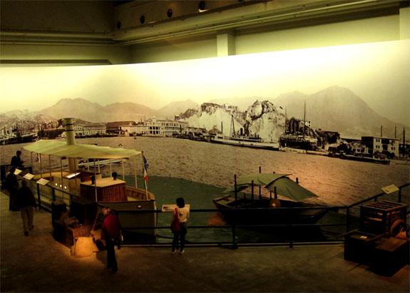 Hong Kong Museum of History HK Harbour