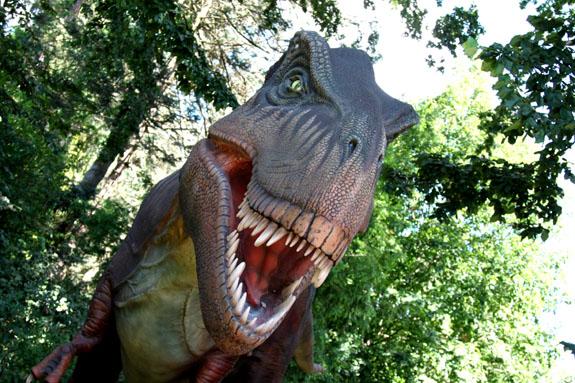 Woodland Park Zoo Dinosaur Exhibit T-rex.