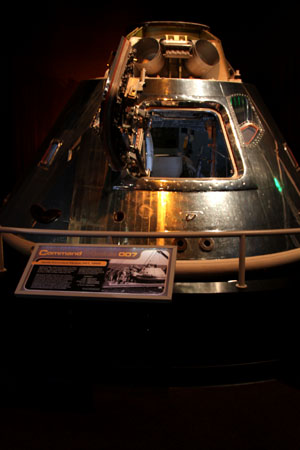 Apollo Command Module at the Museum of Flight