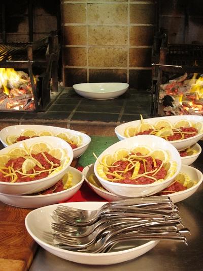Officina della Bistecca Beef Sushi Tartare