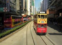 Hong Kong Ding Ding Double Decker Tram