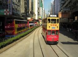 Hong Kong Ding Ding Double Decker Tram