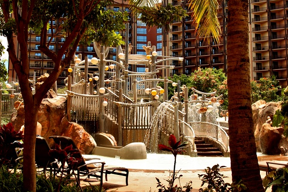Water Playground at Disney's Aulani Resort in Hawaii