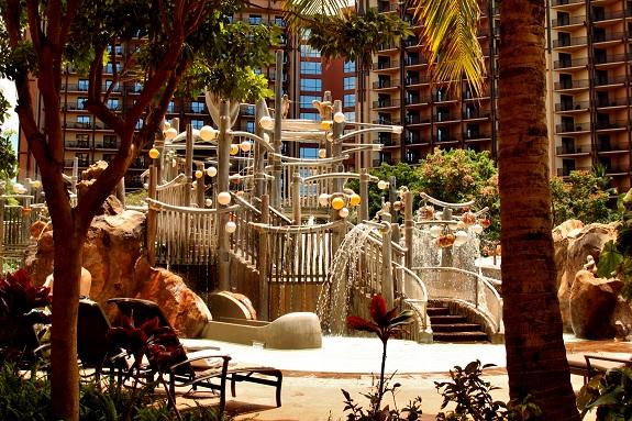 Water Playground at Disney's Aulani Resort in Hawaii