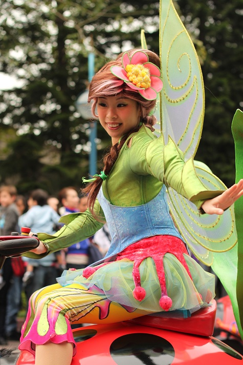 Scooter Fairy Hong Kong Disneyland Parade