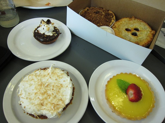 Pies from Leoda's Kitchen and Pie Shop Maui
