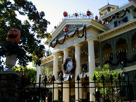 Nightmare Before Christmas Haunted Mansion Decorations