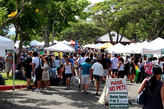 Kapiolani Community College Saturday Farmers Market