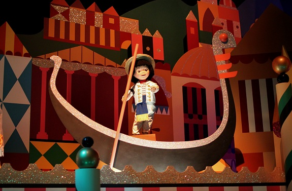 HK Disney Small World Gondalier
