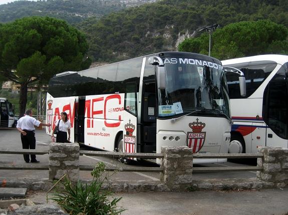 AS Monaco FC Team Bus