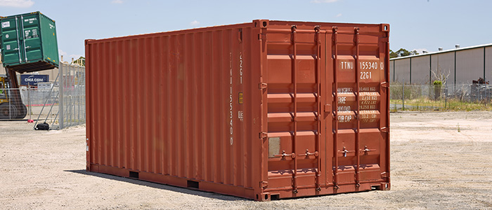 20ft Shipping Container A Verdi