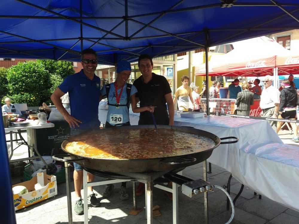 Paella fin de carrera en Jaca