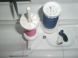How to thread your machine when using a twin needle