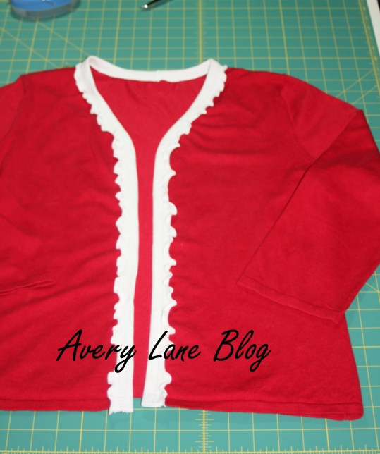 Upcycle Sweater Tutorial : Avery Lane Blog ;
