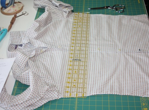 Avery Lane Sewing Blog A Button Down SKirt Upcycle Project2