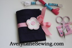 Avery Lane Sewing Blog Needle Book Tutorial for kids 333