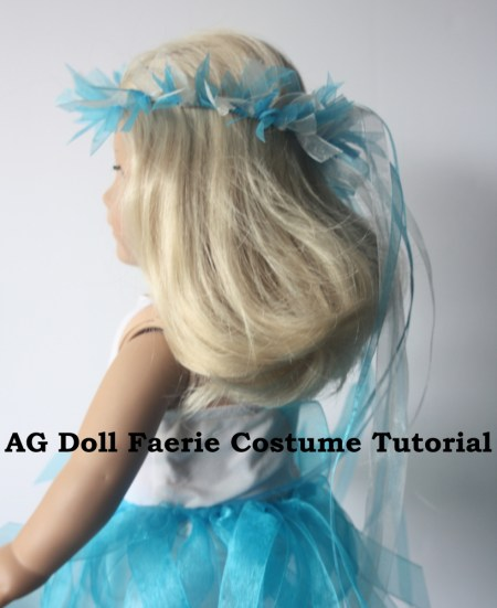 A Faerie costume for dolls tutorial for kids