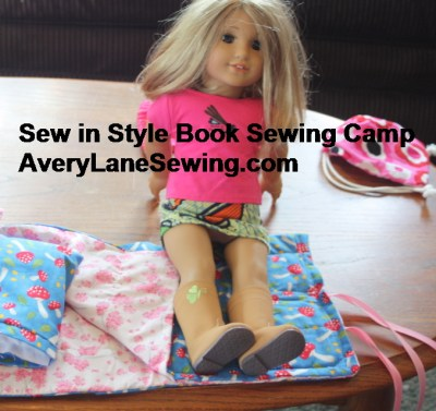 Sew in Style book Summer Sewing Camp