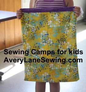 Sewing Camps for kids AveryLaneSewing.com 2
