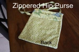Zippered Hip Purse (advanced Beginner level)