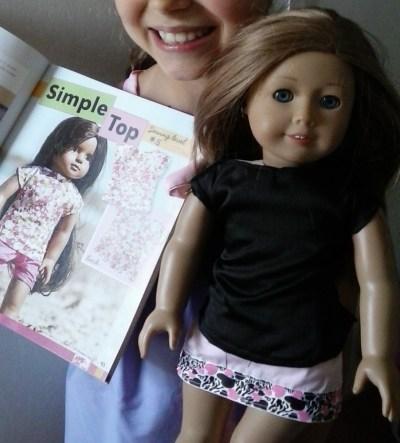 Annie Simple Top week 1 www.AveryLaneSewing.com Sewing Camp online for kids!