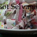 Selvage Quilt Blocks Tutorial