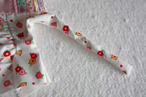 1 Doll Days Modern Jumper pattern sew along 15