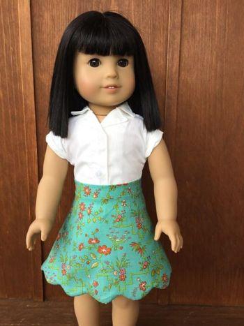 3 Doll Days Skirt Challenge
