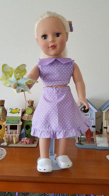 7 Doll Days Skirt Challenge