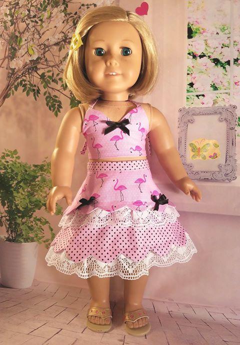 10 Doll Days Skirt Challenge