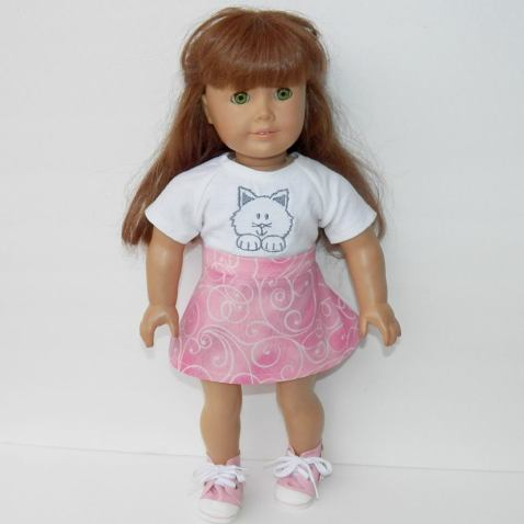 25 Doll Days Skirt Challenge