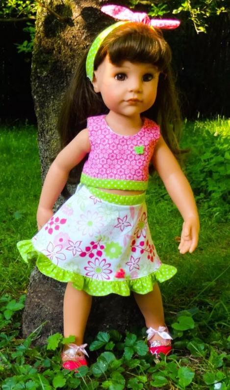 31 Doll Days Skirt Challenge